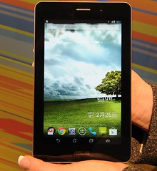 Asus Fonepad Android Tablet at Mobile World Congress