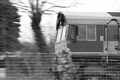 EWS at speed - 1 (TempusVolat) Tags: blackandwhite bw white black monochrome speed train canon eos blackwhite cab swindon railway steam driver pan grayscale panning canoneos gareth freight trainspotting greyscale tempus trainspotter vlack ews 60d canon60d volat wonfor mrmorodo garethwonfor tempusvolat