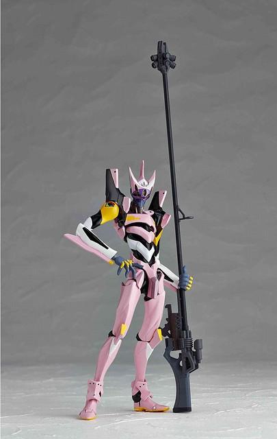 海洋堂 - Revoltech No.134 EVA 8號機α