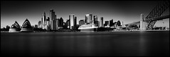 No_Ship_Sherlock_Crop (Beetwo77) Tags: longexposure urban bw panorama architecture ship cityscape stitch pano sydney kitlens australia stack nsw stitching fujifilm stacking 1855mm operahouse shipping fujinon queenmary2 sydneyharbour giga xseries autopano nd64 xpro1 xmount xphotographers fujixpro1