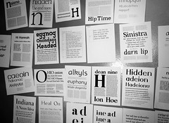 3-Day Typefaces (Depression Press) Tags: design letters workshop font type typeface typefacedesign typespecimen depressionpress craftingtype craftingtypechicago