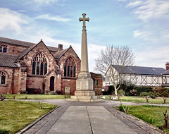 Remembrance (Paul Hurst) Tags: england church st parish memorial war thomas ashton makerfield