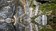 20130305-038-Reflections in Prarie Lake (Roger T Wong) Tags: newzealand sunlight mountain trek reflections nationalpark walk peak hike southisland otago bushwalk southland tramp milfordtrack fiordlandnationalpark canonef24105mmf4lisusm canon24105 clintoncanyon canoneos6d prarielake