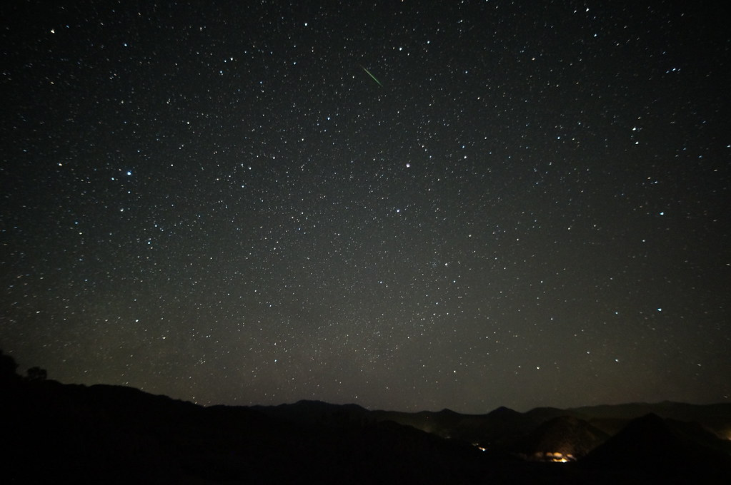 I record lots of little meteors like this in almost every time lapse I make. I don't usually publish most of them but decided to pull out three from this shoot.