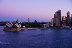 Just again.. (Nuxis [Davide]) Tags: city sunset sea water skyline sony sydney australia newsouthwales cbd operahouse a77 alpha77