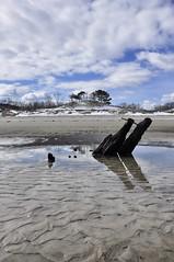 Crane's Beach (SarahRydgren) Tags: ocean life winter shadow sky love beach water reflections sand nikon dunes newengland cranes essex ipswich cranesbeach d90 beacgh