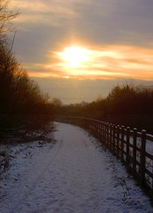 snowset (spratpics) Tags: winter sunset england snow wintersunset teesside billingham northeastengland sunsetinwinter snowset teesvalleyengland teessideengland