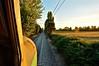 Sunset (Entre Durmientes (Mauro C.)) Tags: chile railroad sunset field electric train tren atardecer nikon railway cargo locomotive breda retiro freight locomotora x5 ferrocarril parral electrica maule e32 carga fepasa mercante d90 copihue sofialoren marelli 50005 nikond90 e3227 entredurmientes