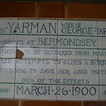 Postman's Park signs, London thumbnail