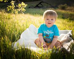Wingman (justinm) Tags: baby tree green grass nikon blanket backlit d600