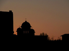 IMG_0952s (Vlad Rotaru) Tags: sunset sky black church cross romania pitesti