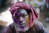 Holi Face (Ragavendran / ♥Rags♥) Tags: colours smiles splash chennai holi happyface cwc splashofcolours coloursofindia riotofcolours sowcarpet chennaiweekendclickers ragavendran