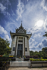 home of the murdered (mephistofales) Tags: grave memorial cambodia southeastasia stupa mausoleum phnompenh killingfields khmerrouge choengek