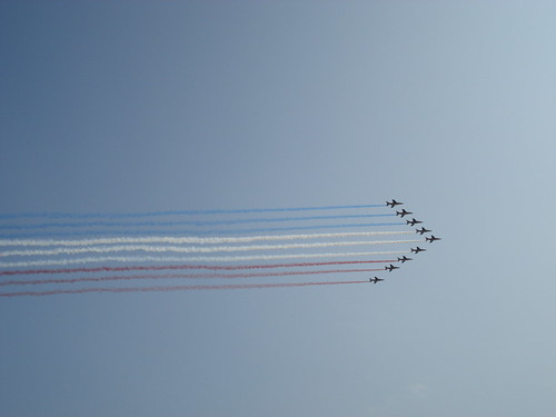 Bastille Day fly by