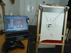 Polargraphstamatic (Euphy) Tags: art robot webcam machine processing kit draw arduino polargraph polarshield