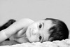 Look right through you (Simona Ray) Tags: portrait baby white black girl up eyes child close