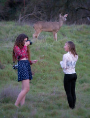 - (PlainJK) Tags: girls girl photography concentration model photographer doe deer subject obliviousness plainjk