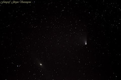 DSC_4663 2013-04-05 (js-foto-lule) Tags: sky night stars natt panstarrs galaxyandromeda galaxenandromeda kometenl4 cometl4