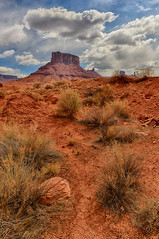 A Parched Land (Jeff Clow) Tags: nature clouds landscape dry soil climate cracked parched moabutah professorvalley theriverroad dcpt tpslandscape tpsnature