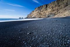 Reynisdrangar (Gin-Lung Cheng) Tags: ocean sea beach beautiful landscape iceland amazing scenery europa europe european outdoor south scenic location vik breathtaking