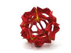Staflow by Andrey Hechuev (l_incka) Tags: origami papiroflexia origamimodular modularorigami dobradura おりがみ kusudama 折り紙 оригами кусудама papierfalten pliagedepapier papefolding dobraduradepapel андрейхечуев хечуев staflow звецвет хечуевандрей стафлоу staflowseries