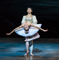 Alexandra Surodeeva with Ruslan Savdenov Perm Opera and Ballet Theatre.2 (Explore #116) (Keith Dixon) Tags: perm