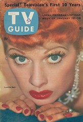 TV Guide - January 12-18, 1957 (The Pie Shops Collection) Tags: television vintage magazine lucy tv scan 1957 tvguide lucilleball
