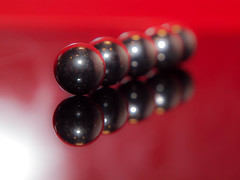 365.101 - Playing with my ... (Tim Stubbs) Tags: reflection flash balls olympus 365 e30 day101 ballbearing fl50 2013 365101 3652013 olympus1260f284edswd 12apr13