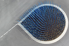 Blue Porcupine (Wind Watcher) Tags: blue kite canada quebec montreal sdm kap porcupine dopero windwatcher chdk