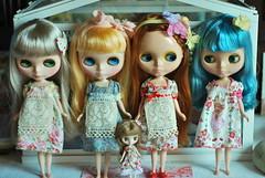 5 girls 5 dresses