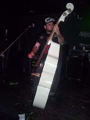 Sick Boy 2 (alicia_rebecca) Tags: uk music manchester concert live gig livemusic rockabilly doublebass psychobilly creepshow