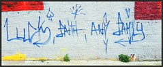 Graffiti, Hackney Wick, East London, England. (Joseph O'Malley64) Tags: uk greatbritain england streetart london walking graffiti cycling unitedkingdom britain murals urbanart gb popculture eastend eastlondon hackneywick cyclerides flickrandroidapp:filter=none