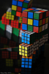 Rubik's cubes (Tony Dias 7) Tags: macro geometric shapes mondays