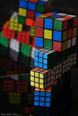 Rubik's cubes (Tony Dias 7) Tags: macro geometric shapes mondays