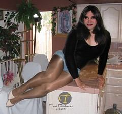 One of my Favorite Poses (Veronica Mendes (formerly Toni Richards)) Tags: black cute sexy tv high beige long pumps pointy toe transformation legs body cut cd adorable makeup duke off crossdressing tgirl transgender suit wig transvestite daisy heels toni denim heel shorts ecstasy lipstick euphoria lovely bodysuit stiletto richards transgendered crossdresser ts dukes tg leotard daisyduke mtf travesti transgirl transwoman tonirichards