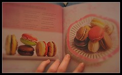 My next challenge... ( EkkyP ) Tags: self book colours yum fingers 365 hiding macarons project365 365days nextchallenge uploaded:by=flickrmobile flickriosapp:filter=nofilter