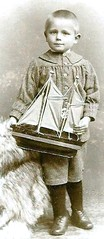 CDV Cute Little Boy with Sail Boat Dreden Germany (oldsailro) Tags: park old boy sea summer people sun lake playing cute beach water pool girl sunshine youth sailboat race vintage germany children fun toy boat miniature wooden pond model waves sailing ship child with time little yacht antique group boom sail cdv regatta mast hull spectators watercraft adolescence keel fashioned dreden