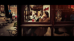 One Day in Amsterdam - Boredom (Jeff Krol) Tags: street trip woman holland art netherlands coffee dutch amsterdam 35mm drink walk f14 capital nederland bored streetphotography sigma boredom oneday shake series canon5d fullframe cinematic ff serie straat capitalcity citytrip fruitdrink straatfotografie 1dag sigma35mmf14 5dmarkii artlens 5dmkii 5dmk2 5dmii sigma35mmf14dghsma onedayinamsterdam 1daginamsterdam 20130413000img1315
