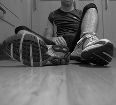 Tired (Mal 1005) Tags: tired 365 floored runner saucony