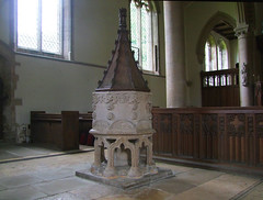 font (Simon_K) Tags: church churches peterborough cambridgeshire eastanglia cambs barnack