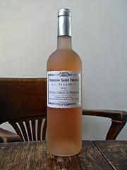 Domaine Saint Ferrol Coteaux Varois ros 2015 (knightbefore_99) Tags: wine vin vino bottle table wood chair grape drink booze liquor tasty delicious domaine saint ferrol coteaux varois en provence ros 2015