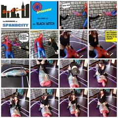 spiwicoll (jayphelps) Tags: spandex superheroine cosplay fetish spiderman