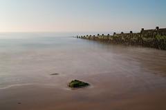 Sand & Sea (Future-Echoes) Tags: 2012 40mm beach coast essex groyne longexposure receding sand sea waltononthenaze water