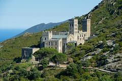 Sant Pere de Rodes (Jordi Ramon Fotografia) Tags: santperederodes portdelaselva catalonia landscape monastery mountain mediterraneansea sea romanesque