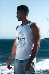 Var del Pescao (Benelo.com) Tags: camiseta design beach models tshirt top sky blue sea grancanaria
