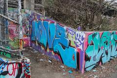 Mave (NJphotograffer) Tags: graffiti graff new jersey nj bumtrail riverwalk mave ogc crew