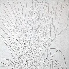 Thorme des quatre couleurs (Gerard Hermand) Tags: 1608083107 gerardhermand france paris canon eos5dmarkii formatcarr metal abstraction abstrait abstract peinture paint craquelure crack blanc white