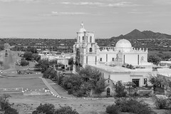 San Xavier del Bac (Laveen Photography (aka cyclist451)) Tags: adot az arizona douglaslsmith laveenphotography phoenix sanxavierdelbac ton tohonooodum business church cyclist451 landscape mission naturalsetting nature photograph photographer photography sidewalkproject wwwlaveenphotographycom black white bw tucson unitedstates us