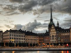 Gamla Stan from Slussen, Stockholm, Sweden (neilalderney123) Tags: 2016neilhoward stockholm sweden gamlastan cityscape architecture