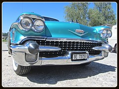 Cadillac Sixty-two Coupe, 1958 (v8dub) Tags: cadillac sixty two coupe 1958 62 schweiz suisse switzerland seedorf american pkw voiture car wagen worldcars auto automobile automotive old oldtimer oldcar klassik classic collector
